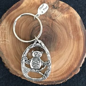 Accessories - 4/$25 Plant a tree owl keychain